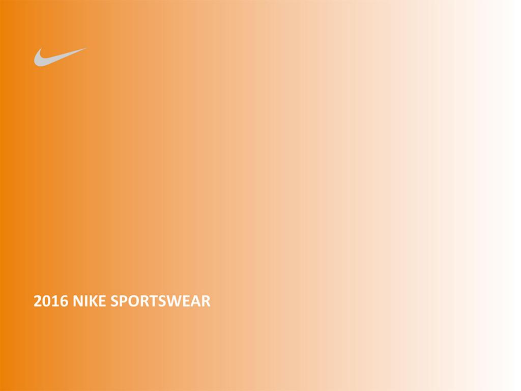 2016 Nike Sportswear