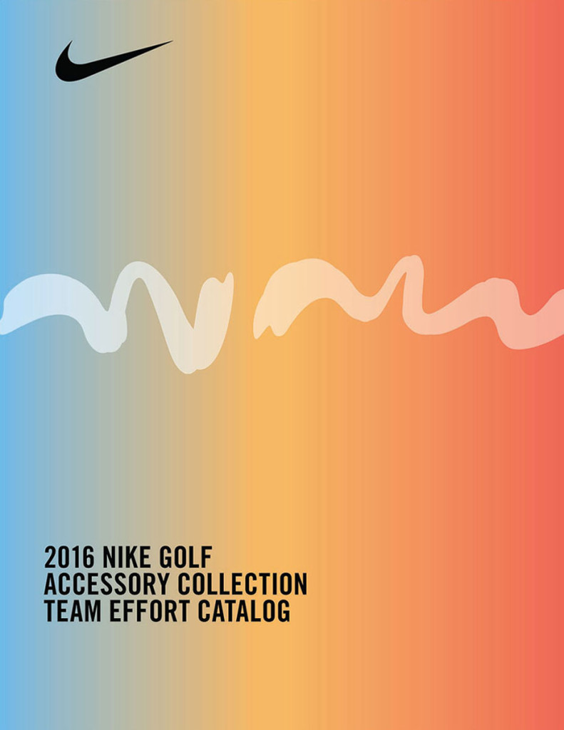 2016 Nike Golf Accessory Collection Team Effort Catalog